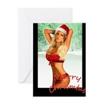 BROOKE BANX MERRY CHRISTMAS Greeting Card