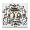 Property Of Abuelo Tile Coaster