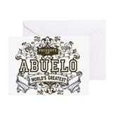 Property Of Abuelo Greeting Cards (Pk of 20)