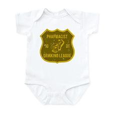 Pharmacist Drinking League Infant Bodysuit