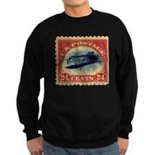 Rare Inverted Jenny Stamp Sweatshirt