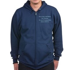 Spay And Neuter Zip Hoodie