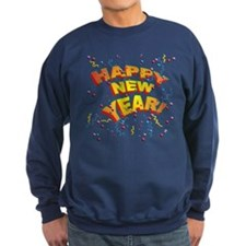 Confetti New Years Eve Sweatshirt