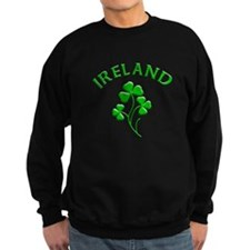Ireland Luck with Shamrocks Jumper Sweater