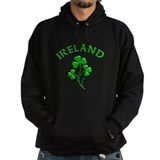 Ireland Luck with Shamrocks Hoody