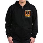 Faith Based Counselor Zip Hoodie (dark)