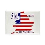 51st State of America Rectangle Magnet (100 pack)