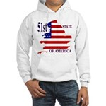 51st State of America Hooded Sweatshirt