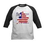 51st State of America Kids Baseball Jersey