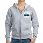 house call Women's Zip Hoodie