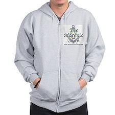 The Masonic Shop Logo Zip Hoodie