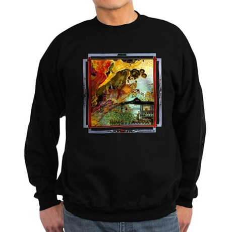 Demonic Illustration Sweatshirt (dark)