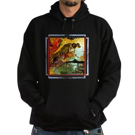 Demonic Illustration Hoodie (dark)