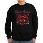 World's Best Witch Sweatshirt (dark)