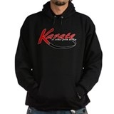 Karate Within Black Belt Hoodie