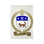 RENARD Family Crest Rectangle Magnet