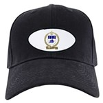 SAVOIS Family Crest Black Cap