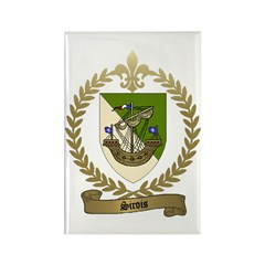 SIROIS Family Crest Rectangle Magnet (10 pack)