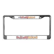 Lucky Bastard License Plate Frame