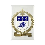 SAVOIE Family Crest Rectangle Magnet (100 pack)