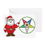 Santa and the OES Greeting Cards (Pk of 20)