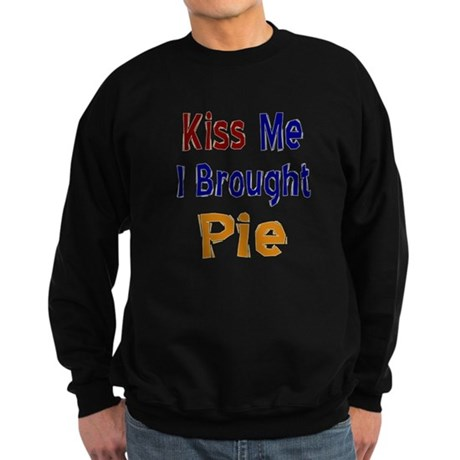 Funny Thanksgiving Pie Sweatshirt (dark)