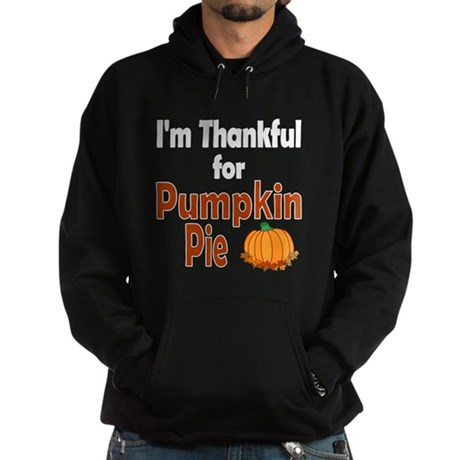 Thanksgiving Pumpkin Pie Hoodie (dark)