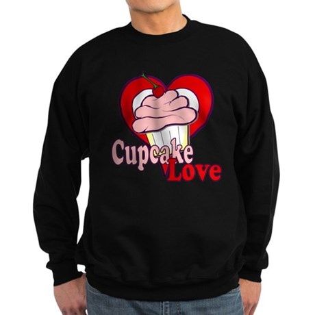 Cupcake Love Sweatshirt (dark)