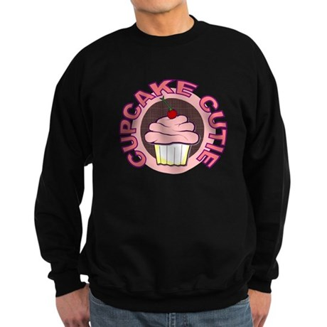 Cupcake Cutie t-shirt Sweatshirt (dark)