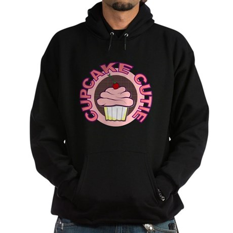 Cupcake Cutie t-shirt Hoodie (dark)