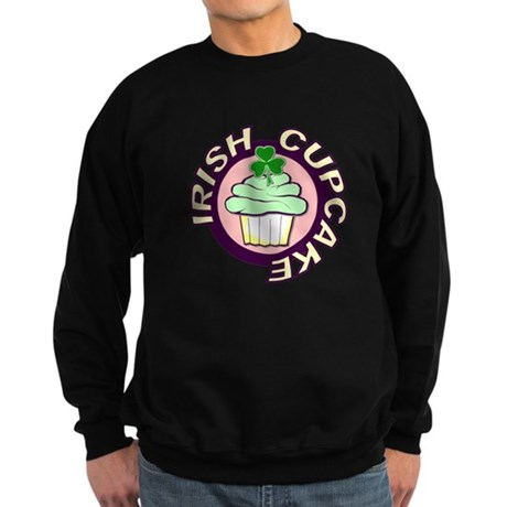 Irish Cupcake Sweatshirt (dark)