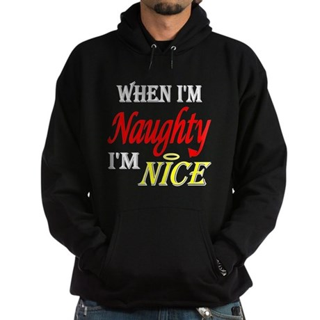 Naughty IS Nice Hoodie (dark)