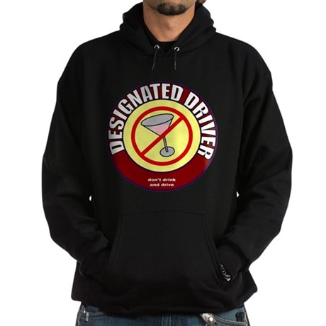 Designated Driver t-shirt Hoodie (dark)