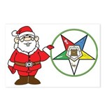 Santa and the OES Postcards (Package of 8)