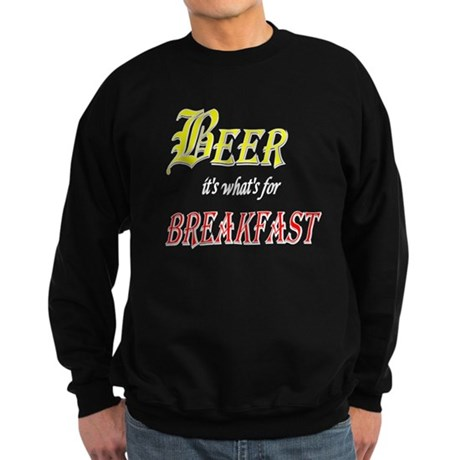 Breakfast Beer Sweatshirt (dark)