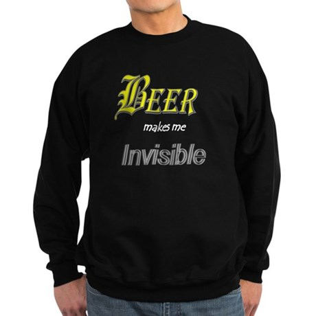 Invisible Beer Sweatshirt (dark)