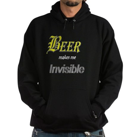 Invisible Beer Hoodie (dark)