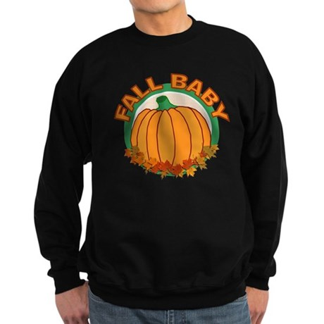 Fall Baby Pumpkin Sweatshirt (dark)