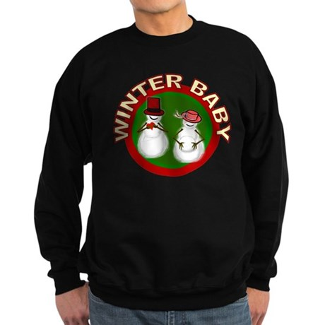 Winter Baby Snowman Sweatshirt (dark)