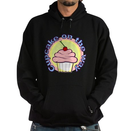 Cupcake on the Way Hoodie (dark)