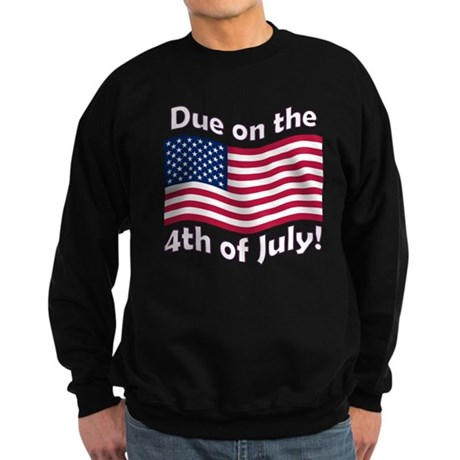 Due on the 4th of July Sweatshirt (dark)