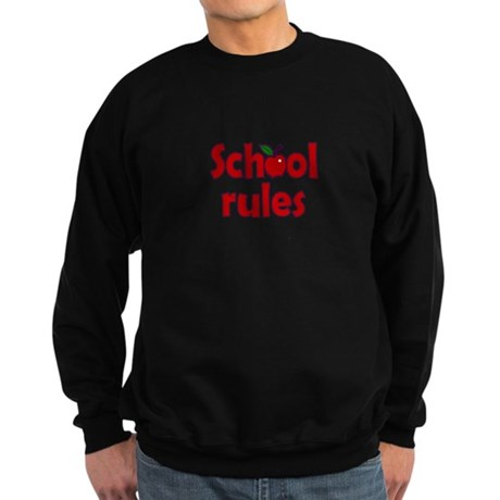 School Rules Sweatshirt (dark)