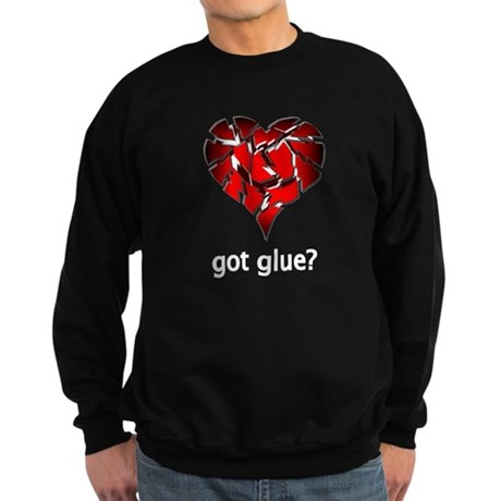 Got Glue? Sweatshirt (dark)