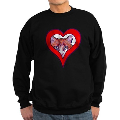 I love my cat Sweatshirt (dark)