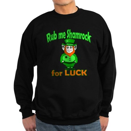 Funny Leprechaun Irish Sweatshirt (dark)