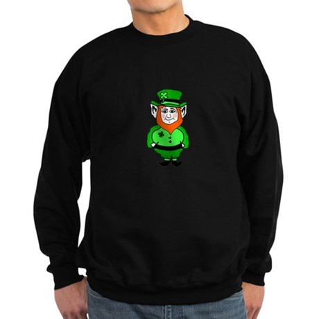 Happy Leprechaun Sweatshirt (dark)