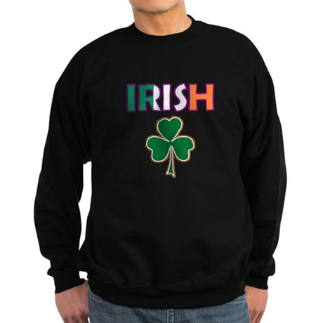 Irish Shamrock Sweatshirt (dark)
