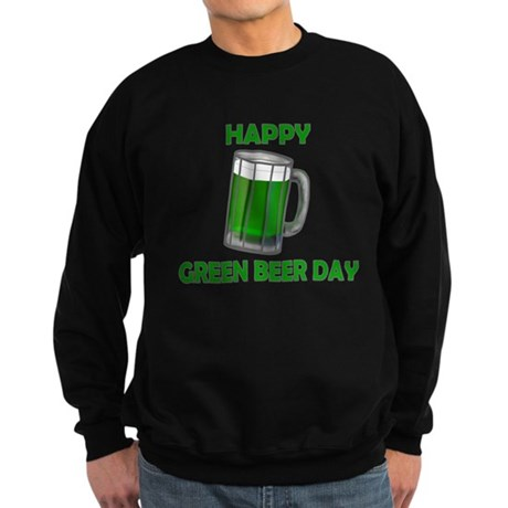 Green Beer Day Sweatshirt (dark)