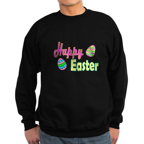 Happy Easter Eggs Sweatshirt (dark)