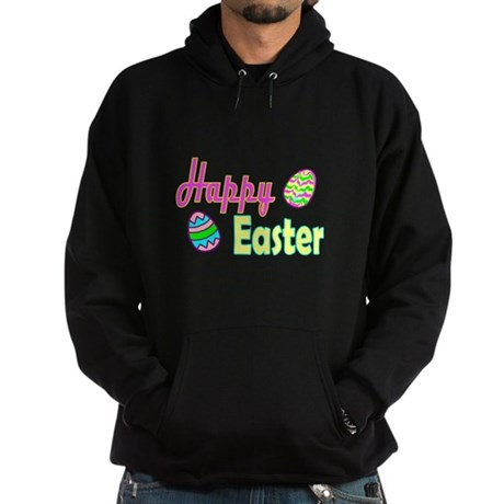 Happy Easter Eggs Hoodie (dark)